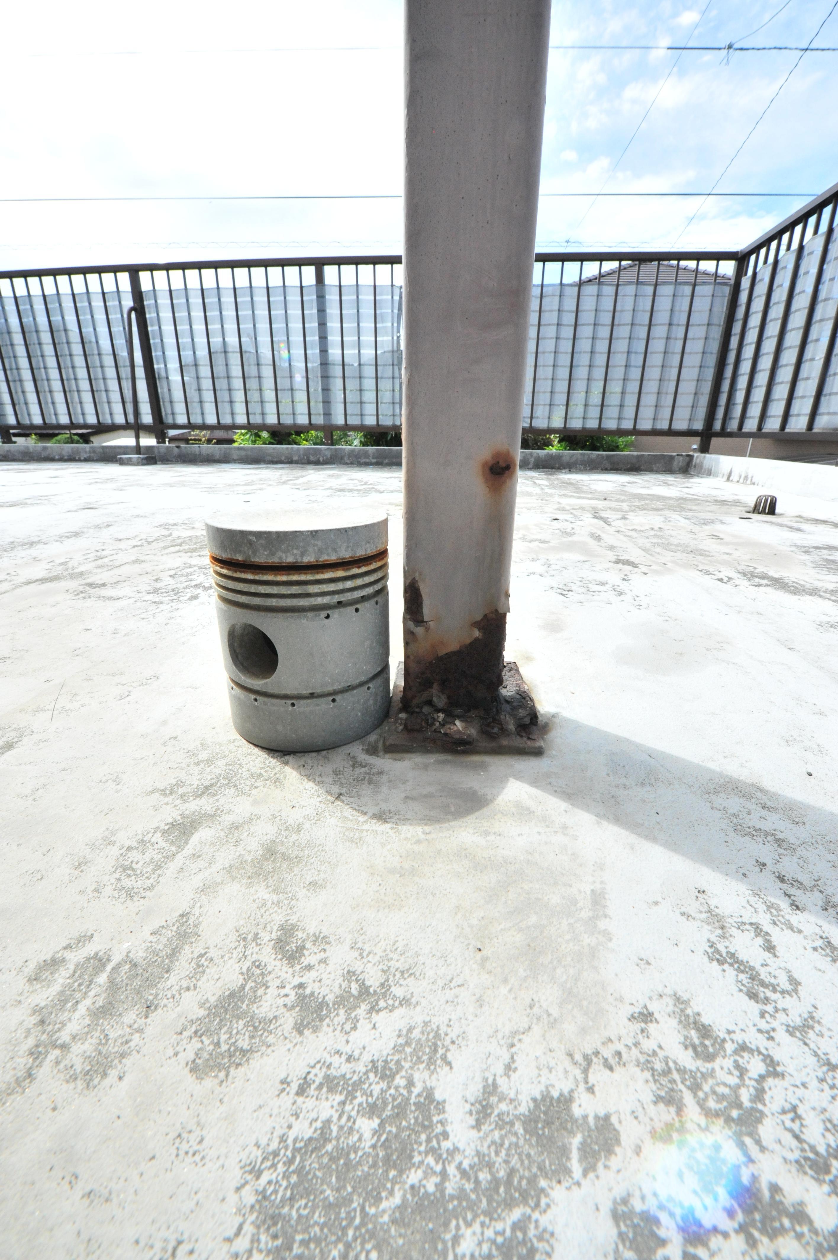 GAISO松山・南予店 外装塗装とコンクリート爆裂!の修理