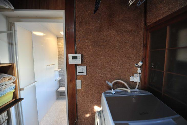 浴室リフォーム システムバス工事を行いました。